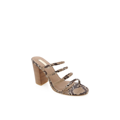 Navo - Camel Snake/Natural by Billini Shoes