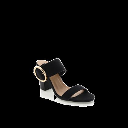 Netti - Black Nubuck by Billini Shoes