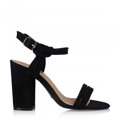 Nysa Black Suede by Billini Shoes