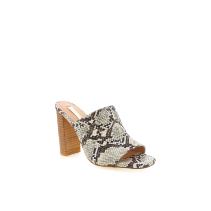 Olenca - Cream Snake by Billini Shoes