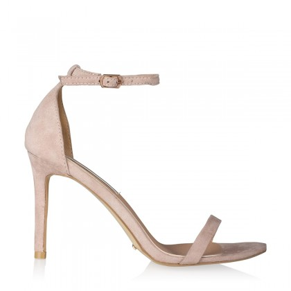 Blush Suede Heels by Billini Shoes