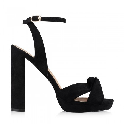 Black Suede  by Billini Shoes