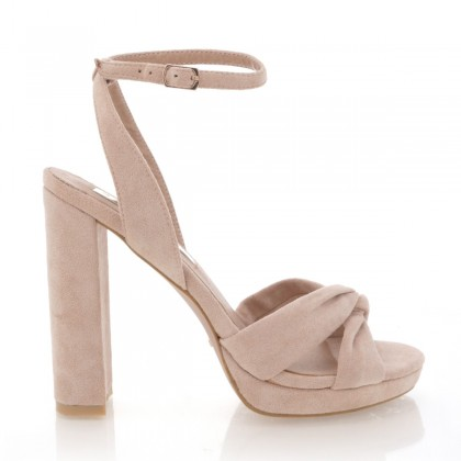 Quinta Blush Suede by Billini Shoes