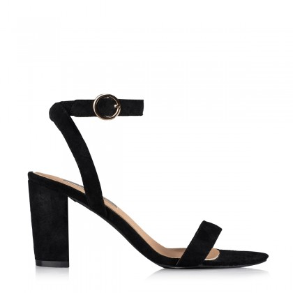 Rica Black Suede by Billini Shoes