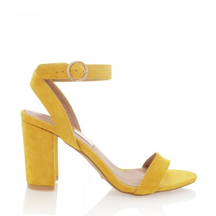 Yellow Suede  by Billini Shoes