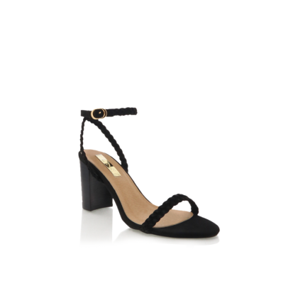 Rita - Black Nubuck by Billini Shoes