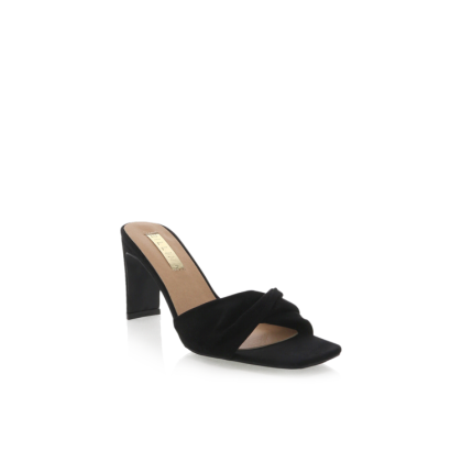 Sadie - Black Suede by Billini Shoes