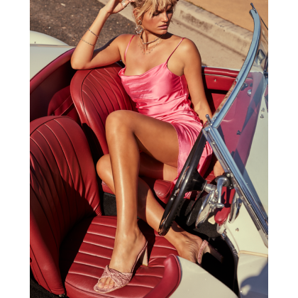 Sadie - Pink Snake by Billini Shoes