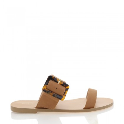 Seville Tan Nubuck by Billini Shoes