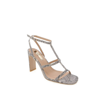 Simona - Beige Reptile by Billini Shoes