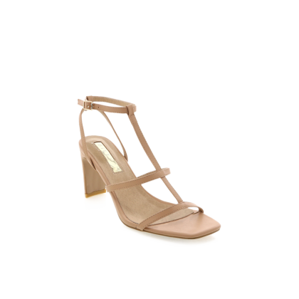 Simona - Dark Nude by Billini Shoes