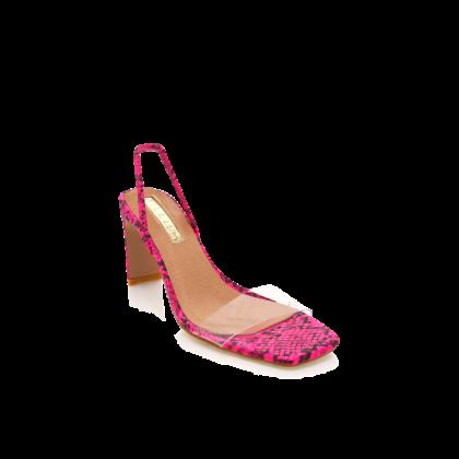 Sirela - Neon Pink Snake by Billini Shoes