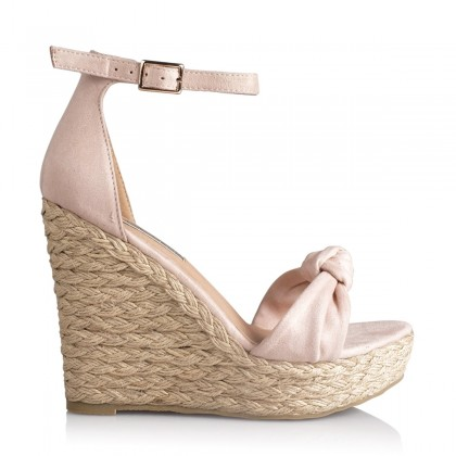 Skala Blush Suede by Billini Shoes