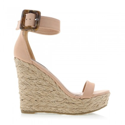 Skiathos Nude Nubuck by Billini Shoes