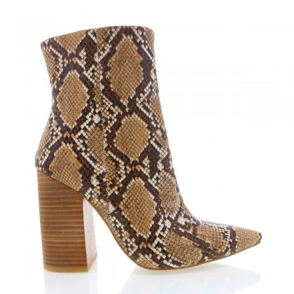 Tio Camel Snake by Billini Shoes