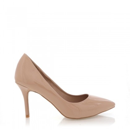 Toni Nude Patent by Billini Shoes