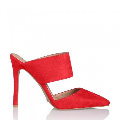 Tulin Red Suede by Billini Shoes