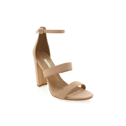 Utah - Nude Nubuck by Billini Shoes