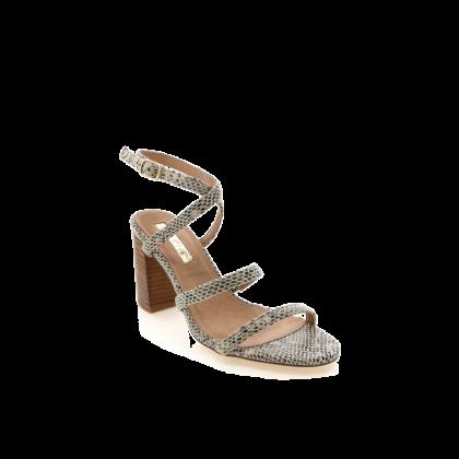 Vega - Bge Rept/Natural by Billini Shoes