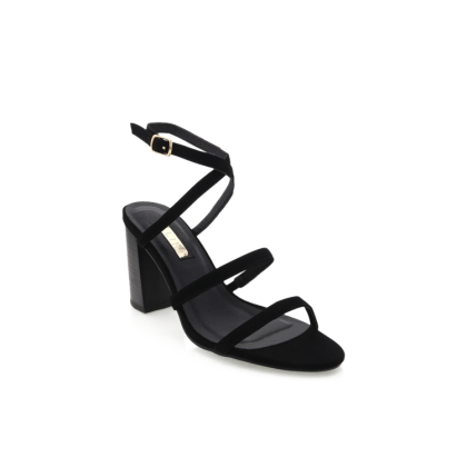 Vega - Black Nubuck/Black by Billini Shoes