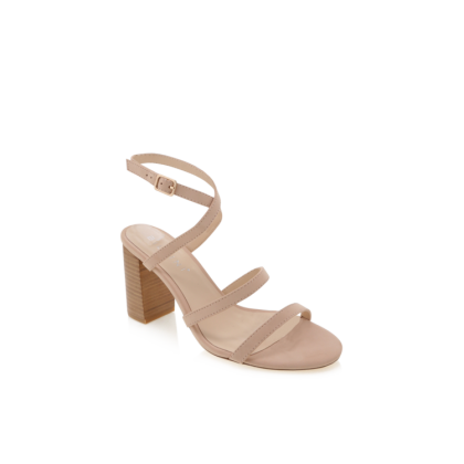 Vega - Nude Nubuck/Natural by Billini Shoes