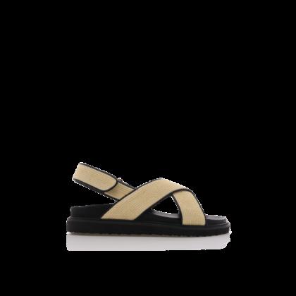 Zamba - Cream Raffia by Billini Shoes