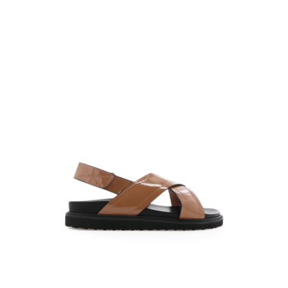 Zena - Toffee Patent by Billini Shoes