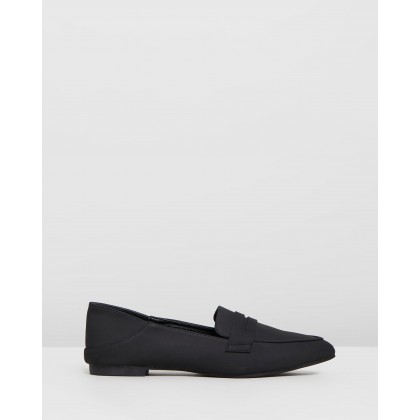 Vaida Black Nubuck by Billini