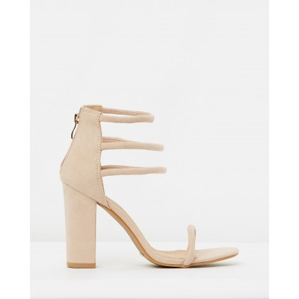 Paquita Nude Suede by Billini