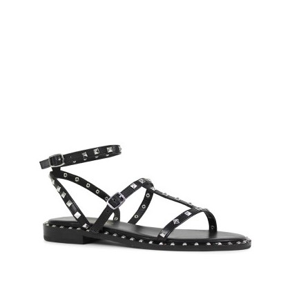 Birdy - Black Nappa Kid by Siren Shoes