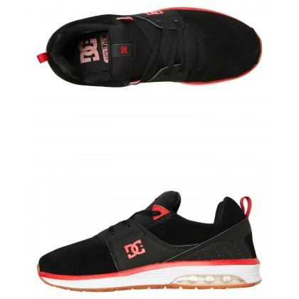 Mens Heathrow La Se Shoe Black Athletic Red