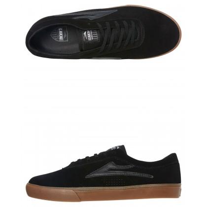 Sheffield Suede Shoe Black Black