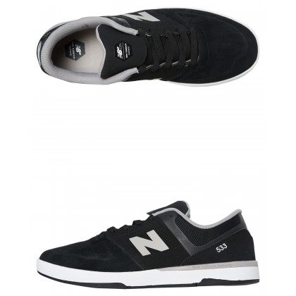 533 Mens Shoe Black Grey