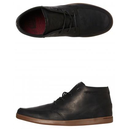 Spiniker Mens Boot Black Gum