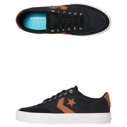 Courtlandt Force Mens Shoe Black