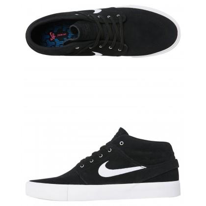 Sb Zoom Janoski Mid Rm Shoe Black