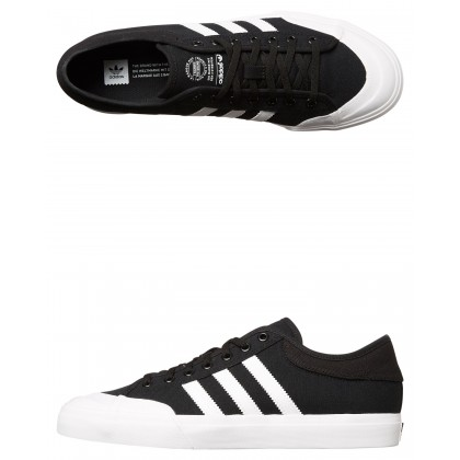 Womens Matchcourt Shoe Black White Black