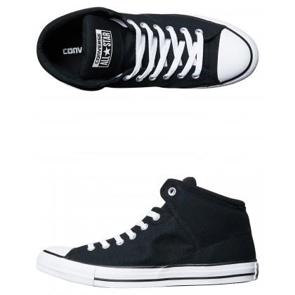 Chuck Taylor All Star High Street High Top Shoe Black White