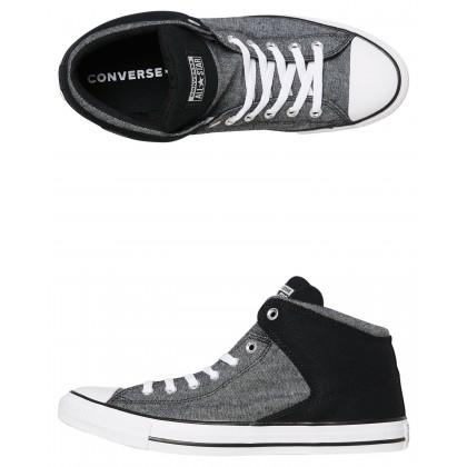 Chuck Taylor All Star High Shoe Black White