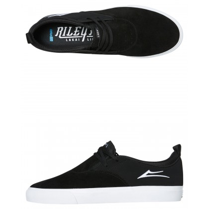 Riley 2 Mens Shoe Black White