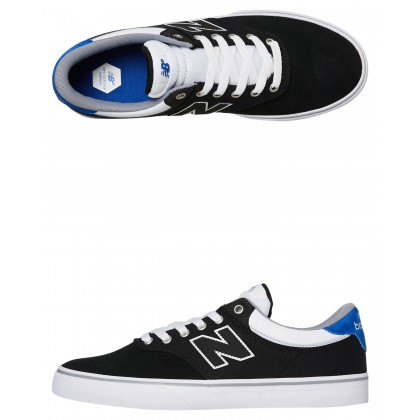 255 Mens Shoe Black White