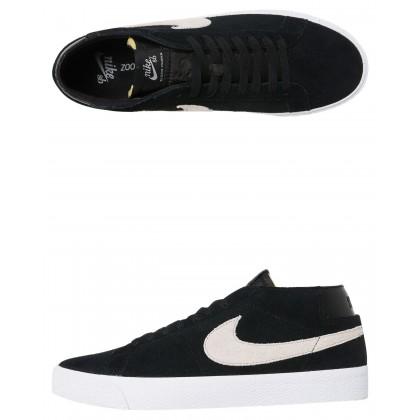 Sb Zoom Blazer Chukka Shoe Black White
