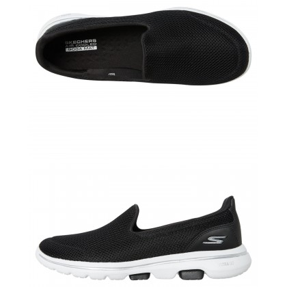 Womens Go Walk 5 Shoe Black