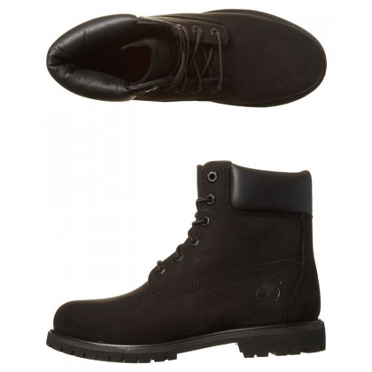 Premium Leather Boot Black