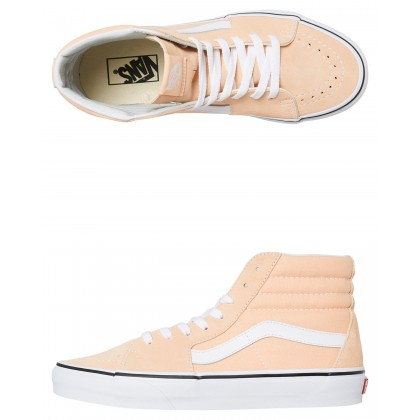 Womens Sk8-Hi Bleached Apricot By VANS