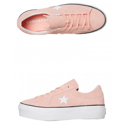Womens One Star Platform Ox Shoe Bleached Coral