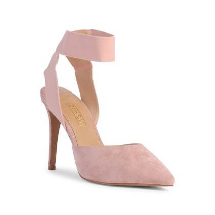 Bobo - Blush Suede by Siren Shoes