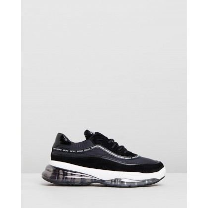 Bubbly Chunky Sneakers Black by Bronx