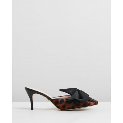 Stell Mules Leopard by Brother Vellies