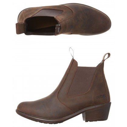 Sierra Leather Boot Brown Buff
